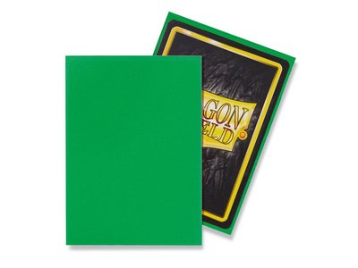 Dragon Shield Card Sleeves: Standard Matte Apple Green (63x88mm)