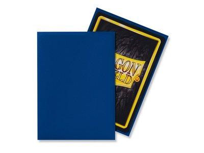 Dragon Shield Card Sleeves: Standard Matte Blue (63x88mm)