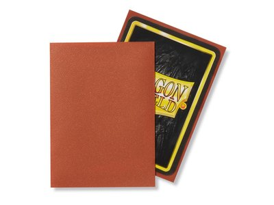 Dragon Shield Card Sleeves: Standard Matte Copper (63x88mm)