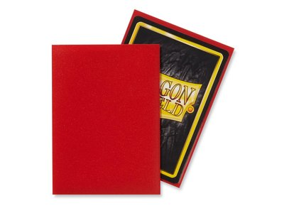 Dragon Shield Card Sleeves: Standard Matte Crimson (63x88mm)