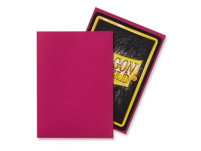 Dragon Shield Card Sleeves: Standard Matte Magenta (63x88mm)