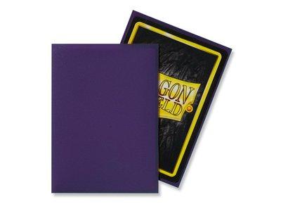 Dragon Shield Card Sleeves: Standard Matte Purple (63x88mm)