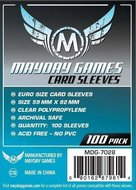 Mayday Card Sleeves: Euro (59x92mm) - 100 stuks
