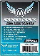 Mayday Card Sleeves: Euro Mini (45x68mm) - 100 stuks