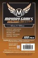 Mayday Card Sleeves: Magnum Ultra-Fit (65x100mm) - 100 stuks