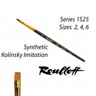 Roubloff Fine-Art Synthetic Brush: Drybrush Regular (1S25-4)